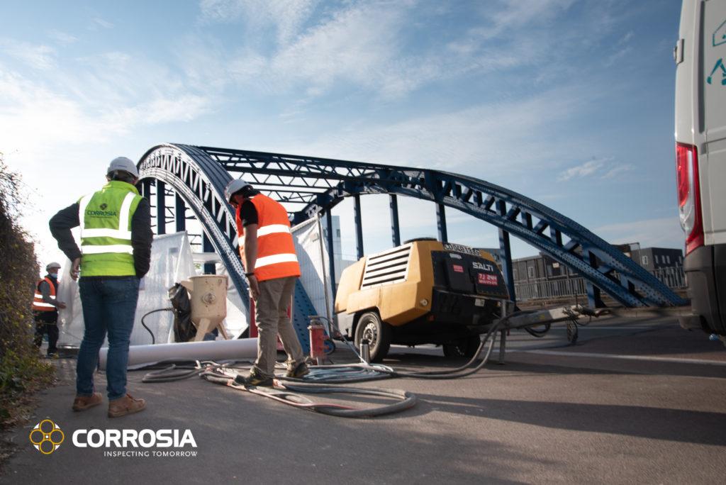 expertise pont équipe Corrosia