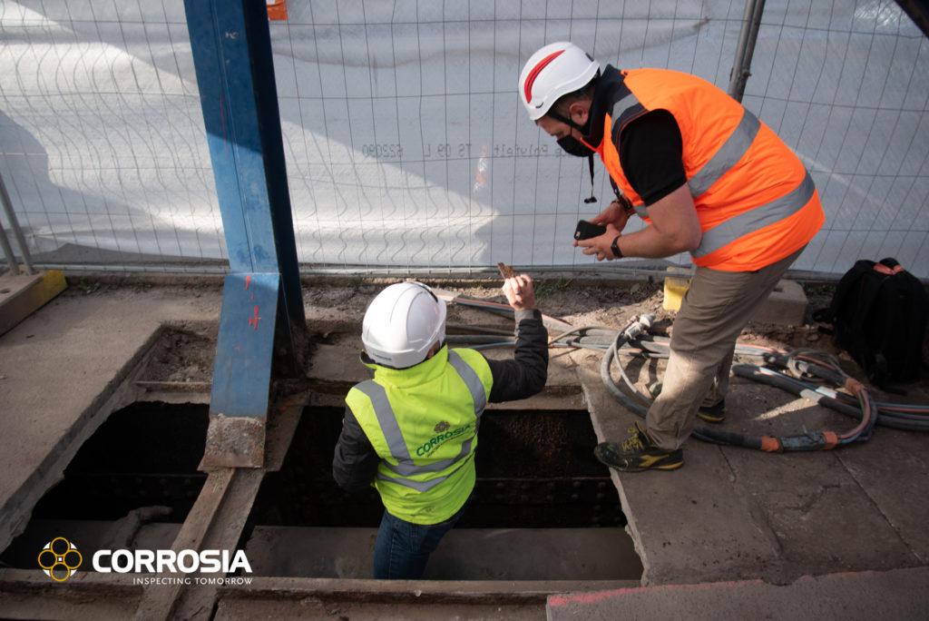 inspection structure métallique d'un pont