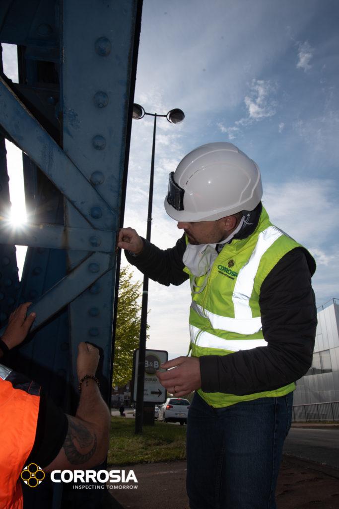 expertise sur structure métallique d'un pont