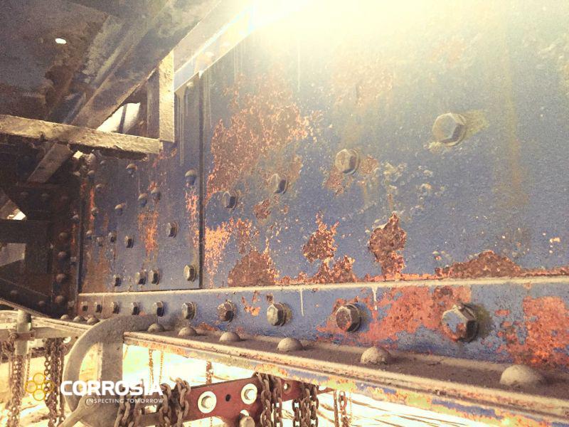 Grenaillage corrosion